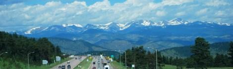 O caminho para Moab e o Parque Nacional Arches