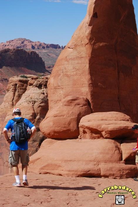 Arches National Park - região do Delicate Arch