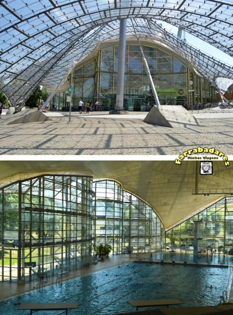 Olympiapark piscinas - Munique