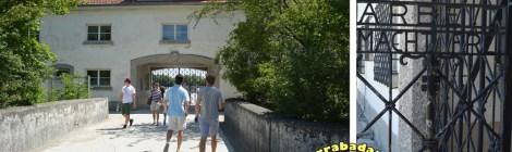 Dachau - portão de entrada