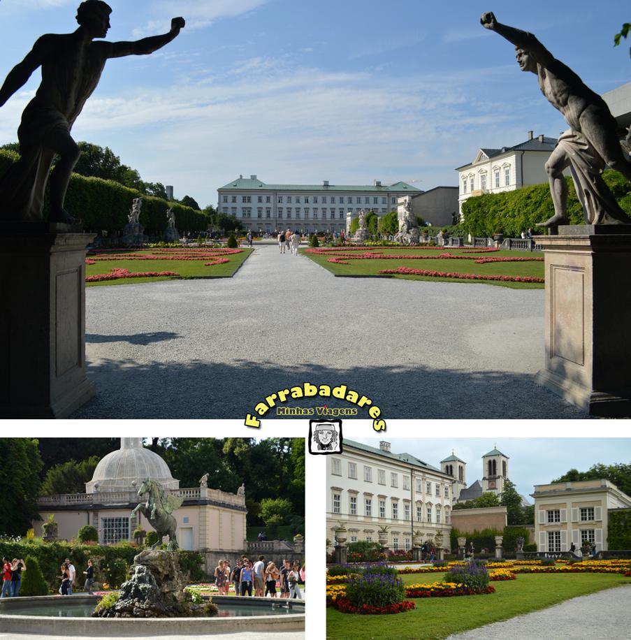 Salzburgo - Palácio e Jardim Mirabell