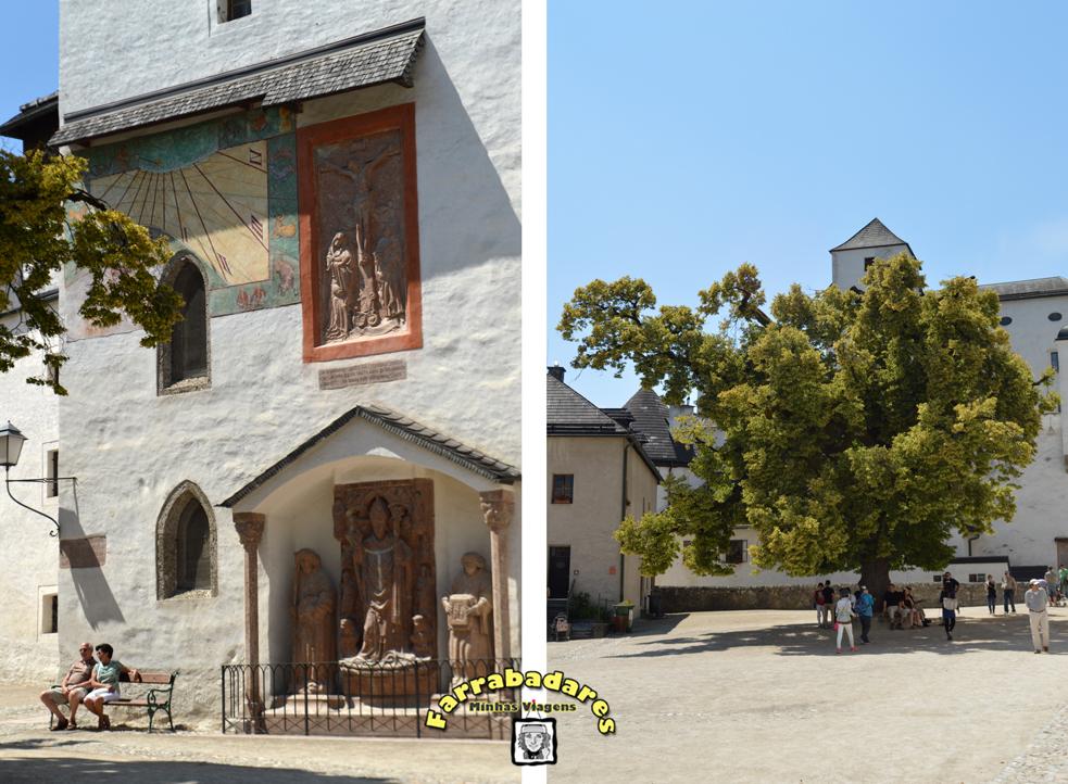 Salzburgo - dentro do castelo