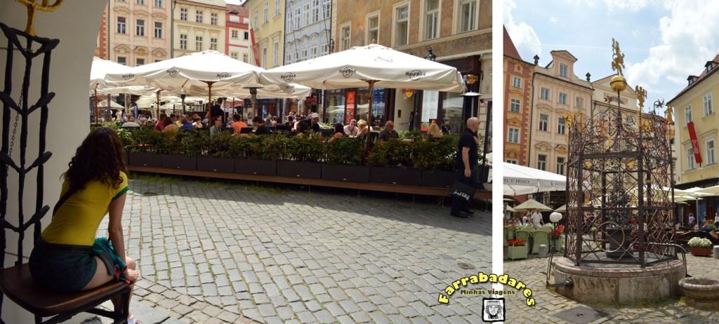 Praga - a charmosa praça Malé Namesti