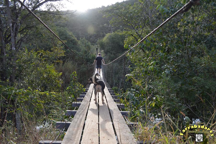 Serra da Canastra - Ponte pencil sobre o Rio São Francisco