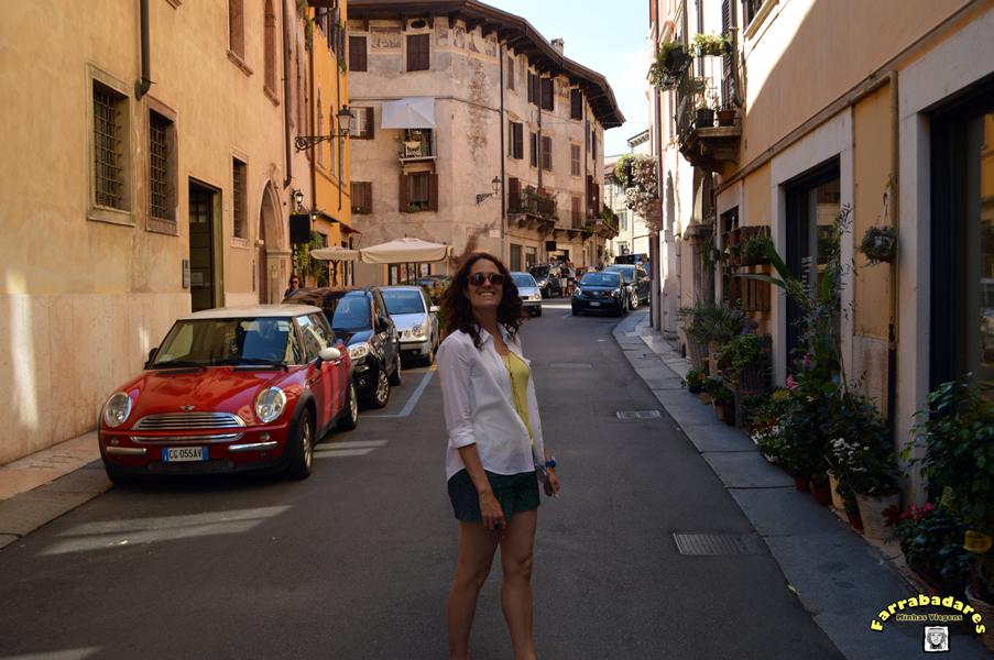 Verona - proximidades da Ponte Pietra