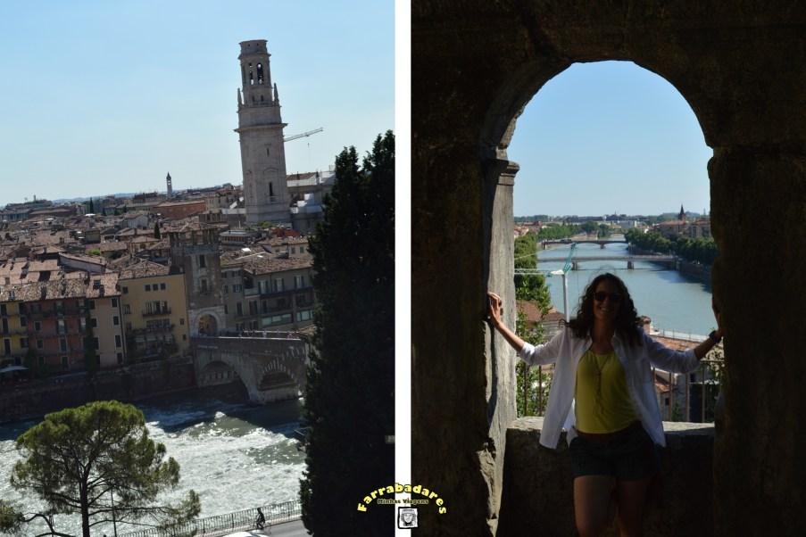 Verona vista a partir do teatro romano