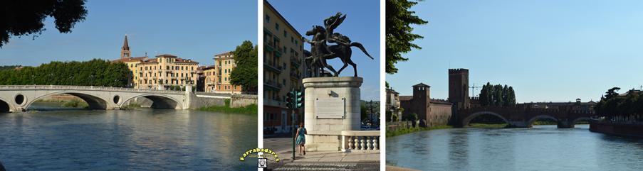 Verona - Ponte e Ponte