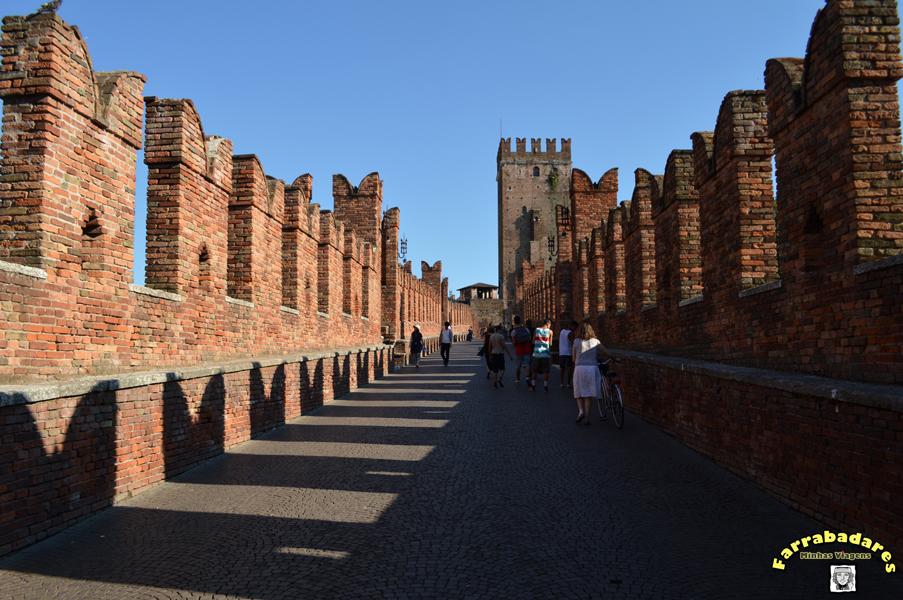 Verona - Ponte di Scaligero em Castelvecchio