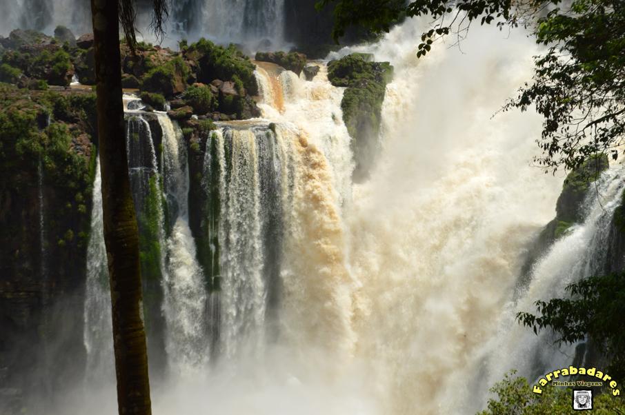 Parque Nacional Iguazú e as cataratas