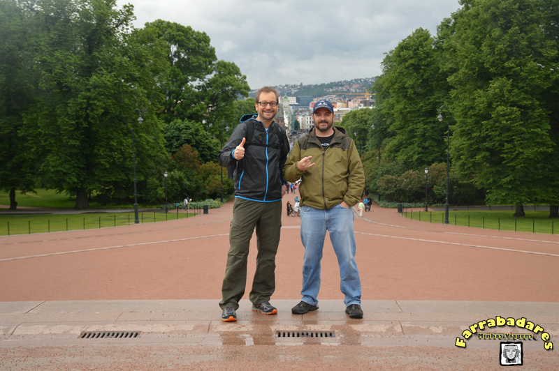 Oslo - Royal Palace - Rafa e Burba