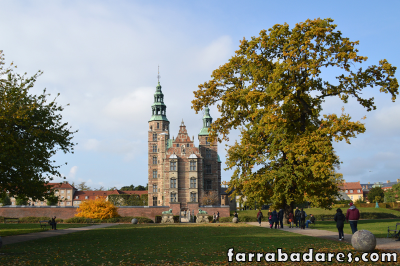 Copenhague - Castelo Rosenborg