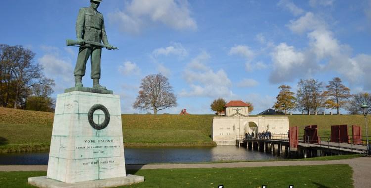Copenhague e sua cidadela, o Kastellet