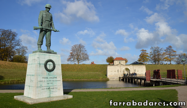 Copenhague - Kastellet - Portão do Rei