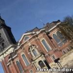 Fachada da Igreja St. Micahelis no bairro de St. Pauli em Hamburgo