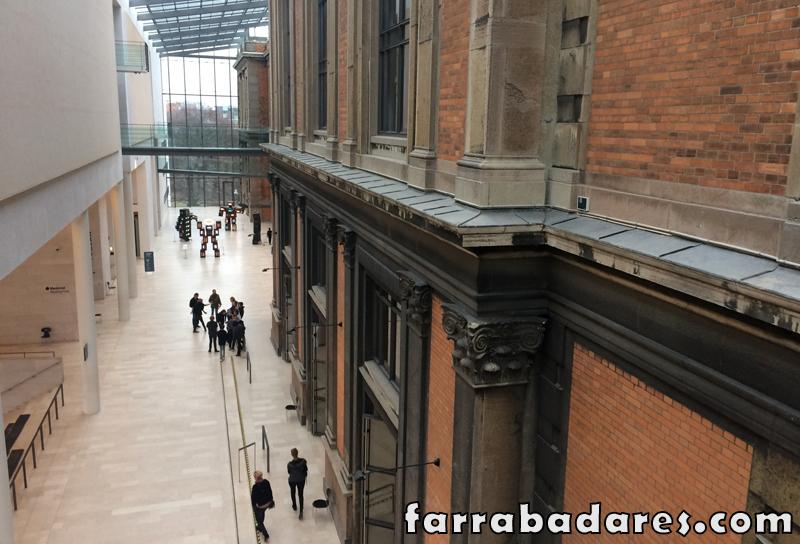 Museu em Copenhague: Galeria Nacional da Dinamarca (SMK) e seus dois prédios
