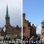 Lübeck e o portão Holstentor