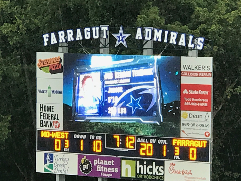 official home of farragut football