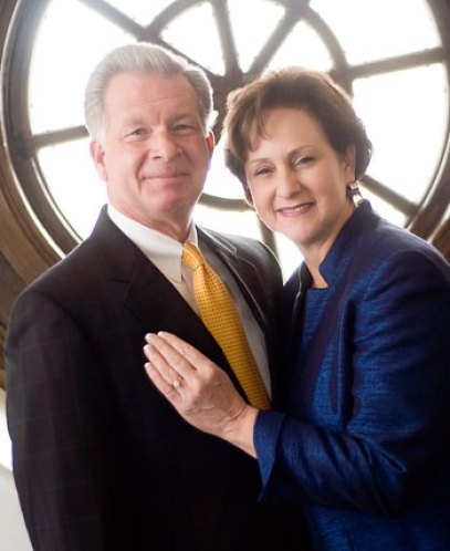 Dr. and Mrs. Farrell