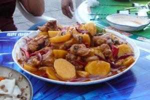 """Dapanji, or """"Big Plate Chicken"""" is great Xinjiang food"""