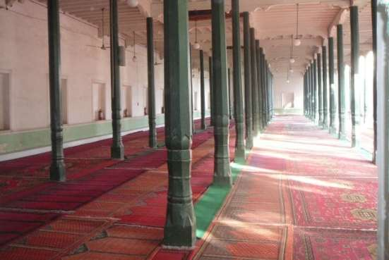 The Prayer Hall in Kashgar's Id Kah Mosque