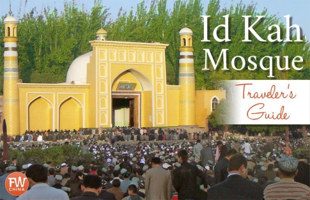Kashgar's Id Kah Mosque travel guide