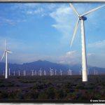 A wind farm south of Urumqi in Xinjiang