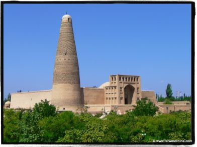 Turpan's Emin Minaret and Mosque