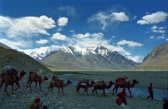 K2 mountain in Xinjiang, the 2nd highest in the world