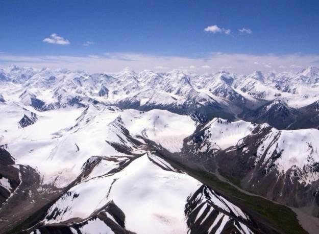 Tian Shan (天山) in Xinjiang, China