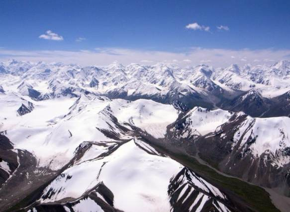 Tian Shan (天山) in Xinjiang, China