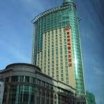 Sheraton Hotel, one of the more expensive Urumqi hotels