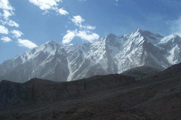 Beautiful mountains along the Karakoram Highway