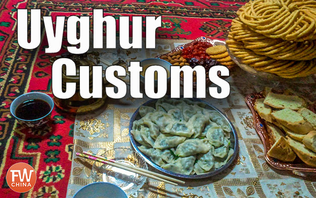 Uyghur customs for hosting and being hosted