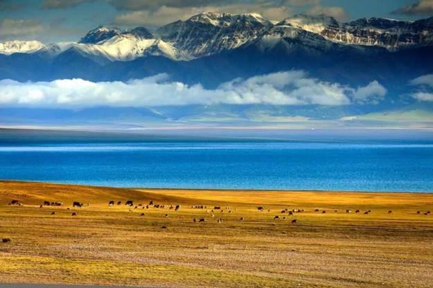 Xinjiang's Sayram Lake