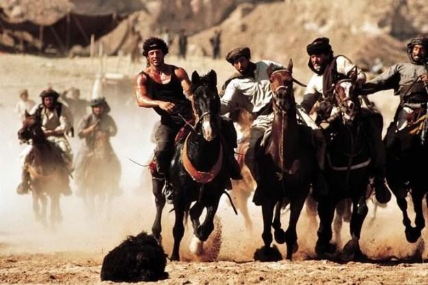 Rambo III and the game of Buzkashi
