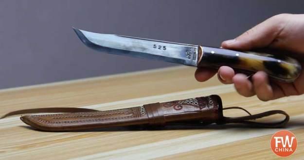 My Uyghur knife from Yengisar, Xinjiang
