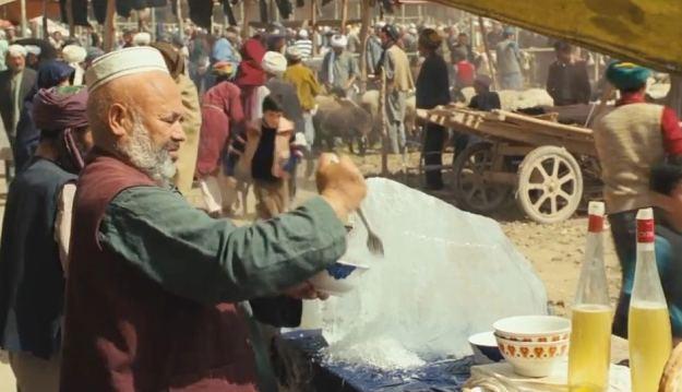 The Kite Runner was filmed in Kashgar