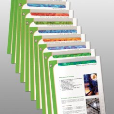 IIS single page brochures