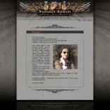 Website of Tattoo artist Samareh Ahmadi