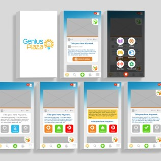 Genius Plaza app / Educational creation and accessibility for students, teachers and parents