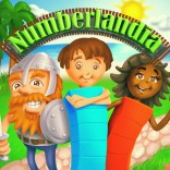 "Illustration for ""Numberlandia"" mobile game"