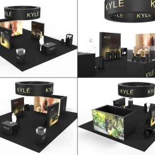 Booth Design for KYLE LABS