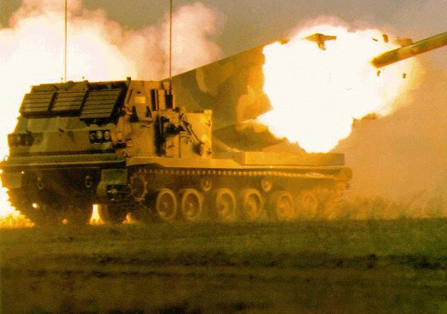 M270 Multiple Launch Rocket System  MLRS