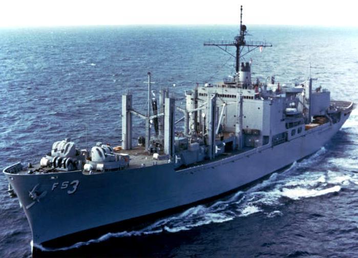 AFS1 Mars Combat Stores Ship  Navy Ships