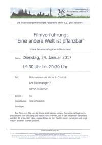 Film - Eine andere Welt ist pflanzbar