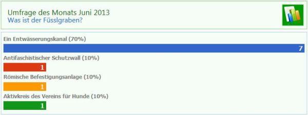 Umfrage Juni 2013