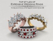 top styles of expensive wedding