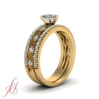 1 Carat Heart Shaped Diamond Engagement Ring Yellow Gold ...