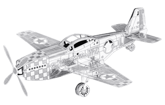 Mustang Merlin Engine SpaceX 3D Printed Engine Wiring