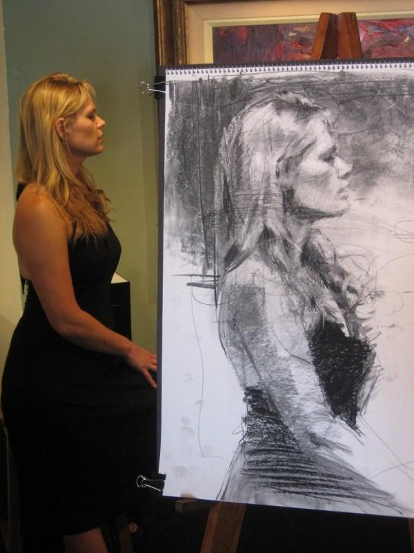 Artist Henry Asencio Commission Sketch
